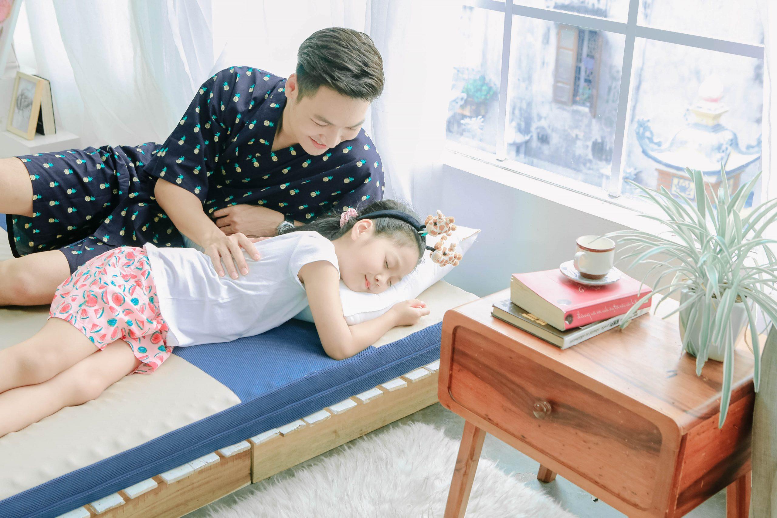 Nệm Foam Goodnight Massage Nhật Bản - cách chọn nệm mùa hè